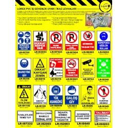 Lorex PVC İş Güvenliği Levhası