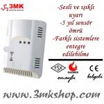 3MK Doğalgaz Dedektörü - 3MK-5120D Gaz Alarm Dedektörü