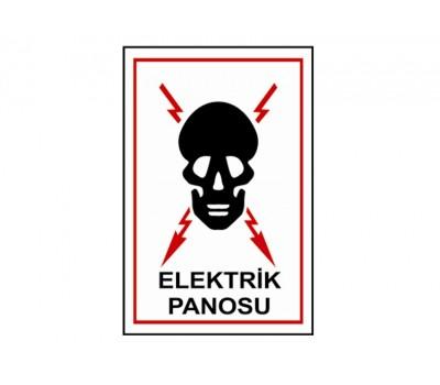 Lorex LR-IS2014 PVC 'Elektrik Panosu' İş Güvenliği Uyarı İkaz Levhası
