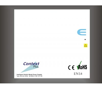 Context Plus CP24-E-2A EN54 Onaylı Güç Kaynağı