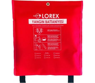 LOREX LR-FB2015C 200cm x 150cm Çantalı Yangın Battaniyesi