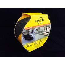 Lorex LR-KYB503 Merdiven Kaydırmaz Bant Sarı-Siyah (50 mm x 10 metre)