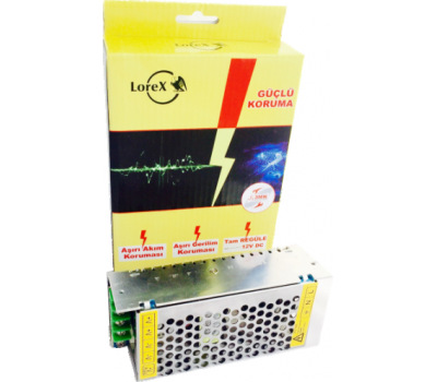 Lorex LR-GUCSW10 12V 10A Kamera Adaptörü