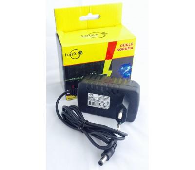 LOREX LR-GUCSW1 12V 1A Kamera Adaptörü