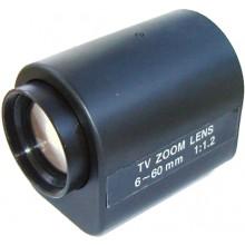 3MK-MZ660 6mm-60mm Motorize Zoom Lens