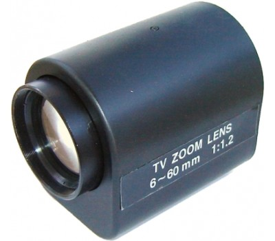 3MK-MZ660 6mm-60mm Motorize Zoom Lens