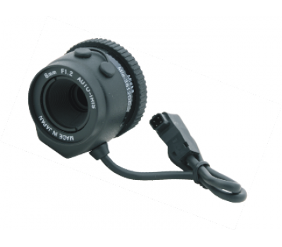 MIEKA MIE-3812DC 8mm Autoiris Lens