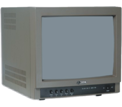 """3MK-MB17A 17"""" Siyah Beyaz CCTV Monitör - Güvenlik Kamerası Monitörü"""