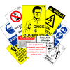 LOREX LR-INSET10 10 Adetli İş Güvenliği Uyarı Levhası