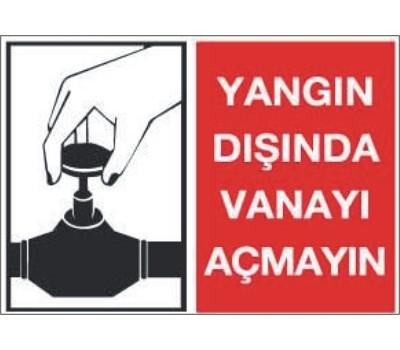 LR-YL34 YANGIN DIŞINDA VANAYI AÇMAYIN