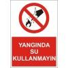 LR-YL51 YANGINDA SU KULLANMAYIN