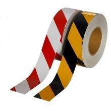 Lorex Reflektif Bant (5cm X 10m) Sarı-Siyah / Kırmızı-Beyaz
