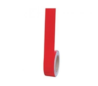 Lorex Reflektif Bant / Fosforlu Bant (5cm x 10m) Kırmızı