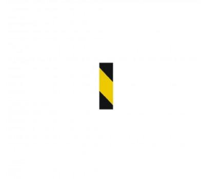 Lorex Reflektif Bant / Fosforlu Bant (5 cm x 46 metre) Sarı Siyah