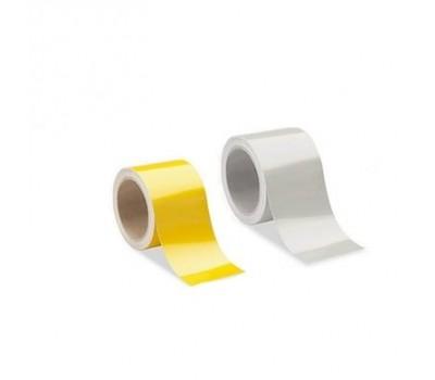 Lorex Reflektif Bant / Fosforlu Bant (10cm x 10m) Sarı / Beyaz