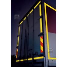 Lorex Petekli Reflektif Bant Fosforlu Bant (5cm x 10 metre)