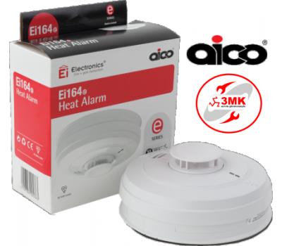 Ei Electronics Ei164RC 220V + Şarjlı Pilli Sıcaklık Dedektörü
