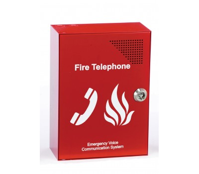 C-TEC EVC301RLK İtfaiyeci Telefonu
