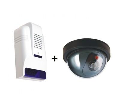 Lorex Caydırıcı Set (Sahte Siren + Kamera)