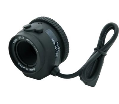 """Mieka MIE-3412DC 1/3"""" 4.0mm F1.2 - 360 DC Autoiris CCTV Lens"""